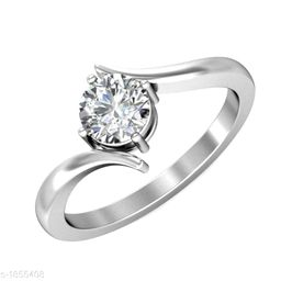 Women's Stone Work Silver Plated Rings