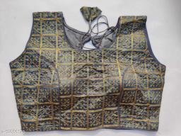 Catonic Phantom Japan Jari Embroidery Stitched Blouse
