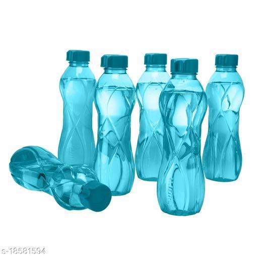 Saura ORRA Fridge Bottle 1000 ml Set of 6 Blue