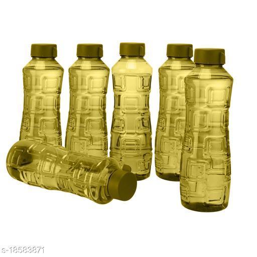 Saura Bliss Fridge Bottle 1000 ml Set of 6 Green