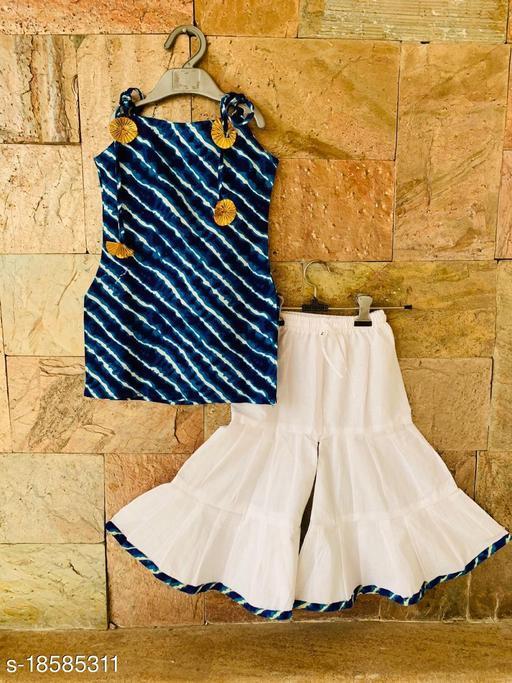 Traditional Kurti Sharara Sets for Girls