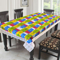 LooMantha Printed 6 Seater Dining Table