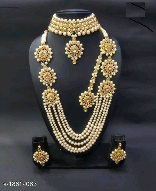Shimmering Bejeweled Women Necklaces & Chains