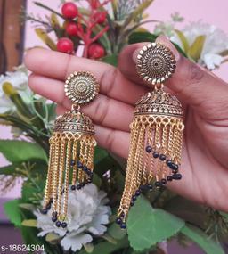 Shimmering Fancy Earrings