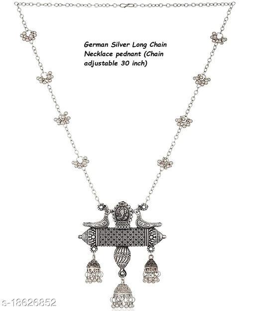 German Silver Longchain vidhyabalan inspired peacock for girls and women