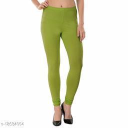 LA25's Women's Churidar V-Cut Leggings Leggings for Girls  Soft Stretchable Cotton Fabric  Yog Leggings   Slim Fit Leggings   Size(S -2XL)