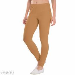 LA25's Women's Churidar V-Cut Leggings|Leggings for Girls |Soft Stretchable Cotton Fabric |Yog Leggings | Slim Fit Leggings | Size(S -2XL)
