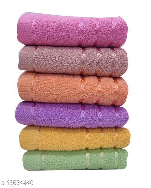 Cotton Kitchen Towel Pack of 6 - Size 30x50 cm - 400 GSM - Sona
