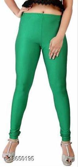 LA25's Women's Churidar Satin Leggings   Satin leggings for girls/Ladies   Soft Stretcheble Satin Legging   FREE SIZES