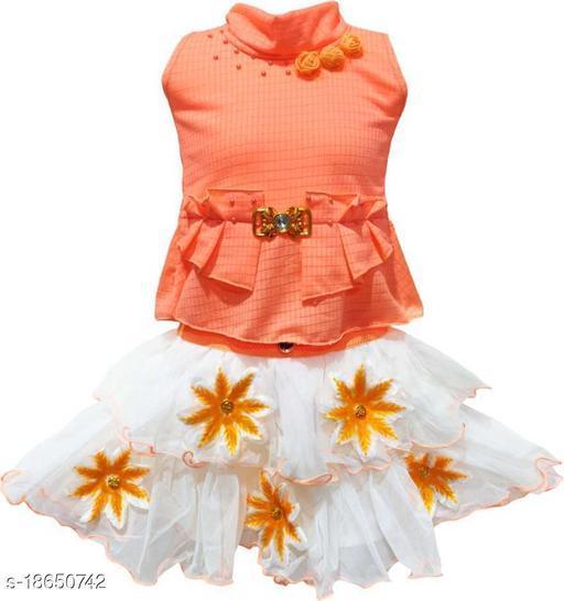 Pretty Stylish Kids Girls Skirts