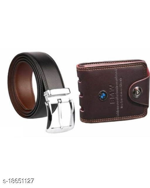 Samm & Moody Amazing Combo Of Reversible Belt and Wallet