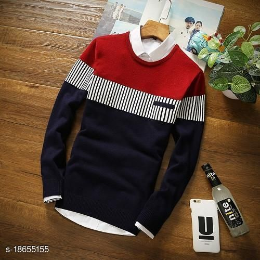 Trendy Retro Men Sweatshirts