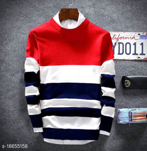 Comfy Partywear Men Sweatshirts