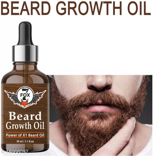 Beard Growth Oil for Strong and healthy beard growth & Patchy-30ML