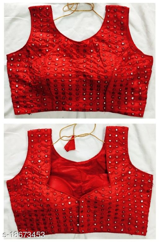 alterable full stiched beautifull party and wedding wear blouse