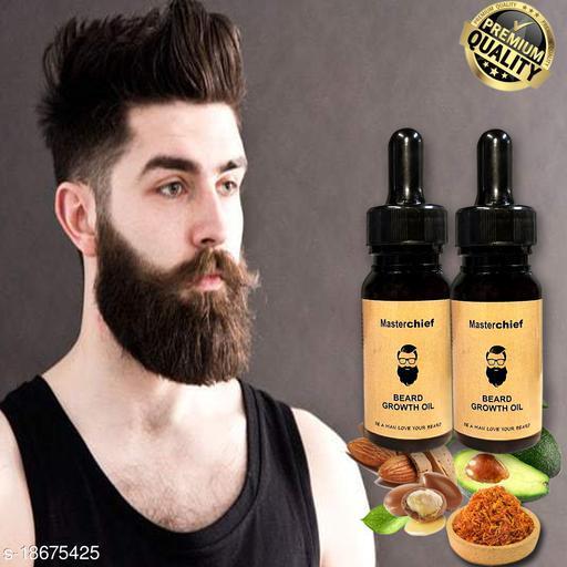 MasterChief Premium Beard Growth oil Pack OF 2