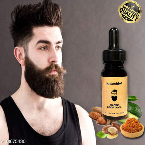 MasterChief Premium Beard Growth oil