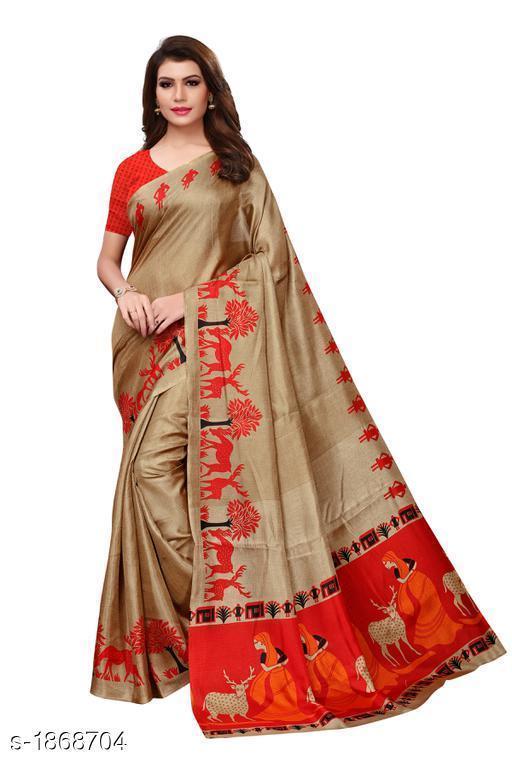 Elegant Efficient Khadi Cotton Saree