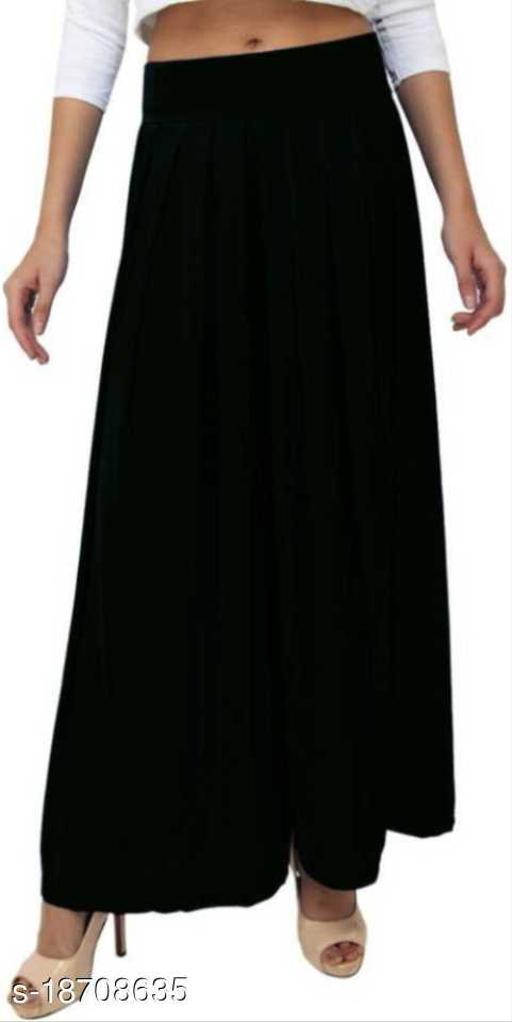 Women's Viscose sharara | Soft Premium viscose fabric | Sharara for Girls | Viscose Lycra sharara | Sizes ( M - 2XL )