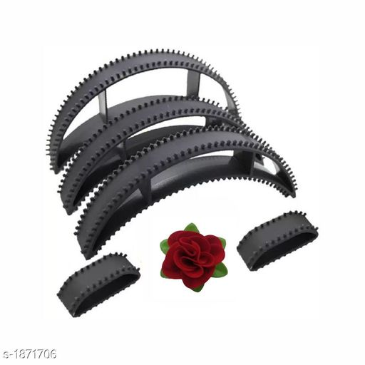 Hair Accessories Classy Attractive Hair Accessories  *Material* Plastic  *Size* Free Size  *Description* It Has Combo Of Hair Bumpits And Hair Accessories Rose Clip For Hair Puff High Hair Volumizer  *Sizes Available* Free Size *    Catalog Name: Quincy Classy Attractive Hair Accessories CatalogID_246571 C72-SC1088 Code: 271-1871706-