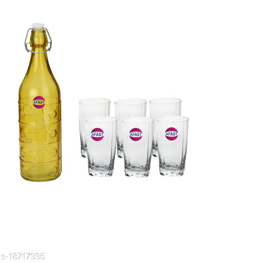 Trendy Bottle And Glass Set For Beverage WT07