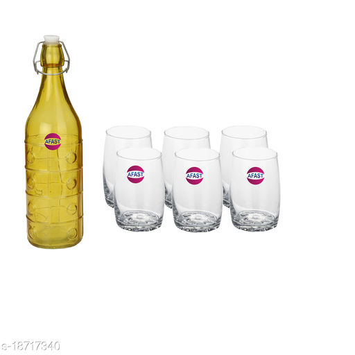 Trendy Bottle And Glass Set For Beverage WT09