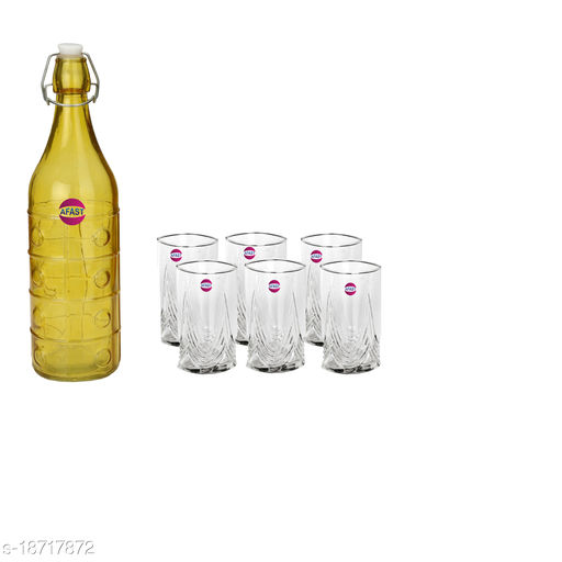 Trendy Bottle And Glass Set For Beverage WT21