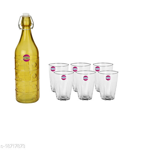 Trendy Bottle And Glass Set For Beverage WT25