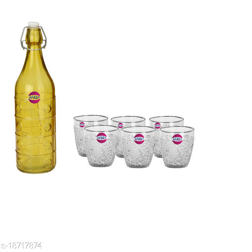 Trendy Bottle And Glass Set For Beverage WT20