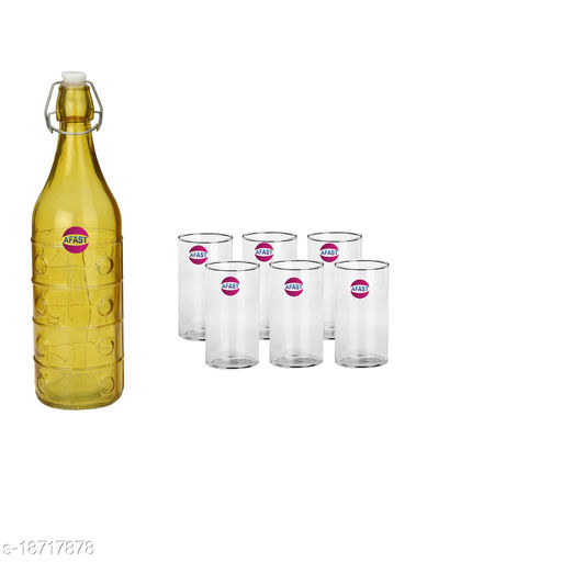 Trendy Bottle And Glass Set For Beverage WT26