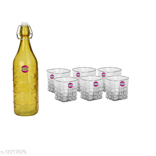 Trendy Bottle And Glass Set For Beverage WT29