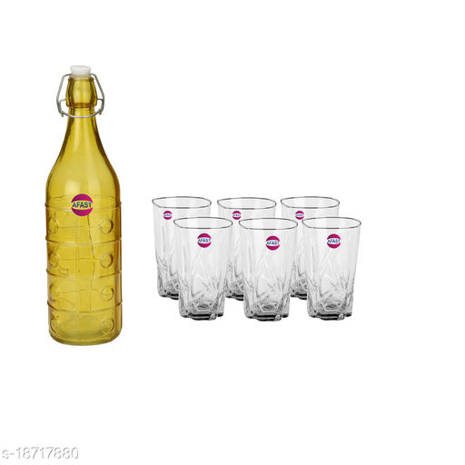 Trendy Bottle And Glass Set For Beverage WT23