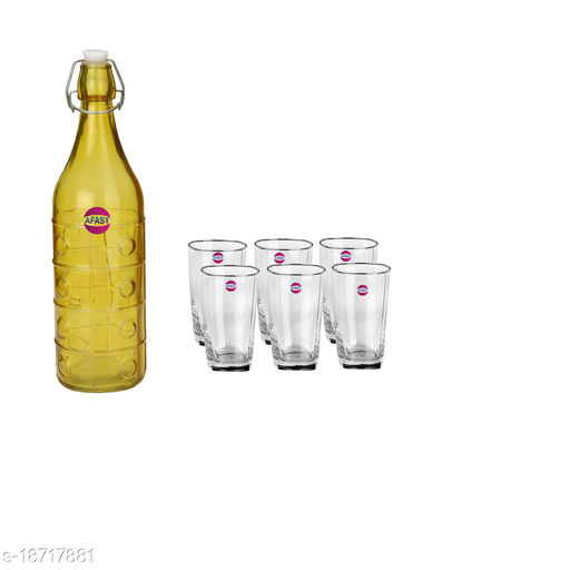 Trendy Bottle And Glass Set For Beverage WT22