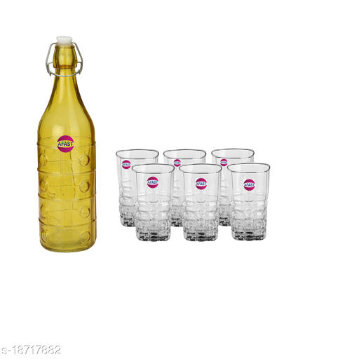 Trendy Bottle And Glass Set For Beverage WT18