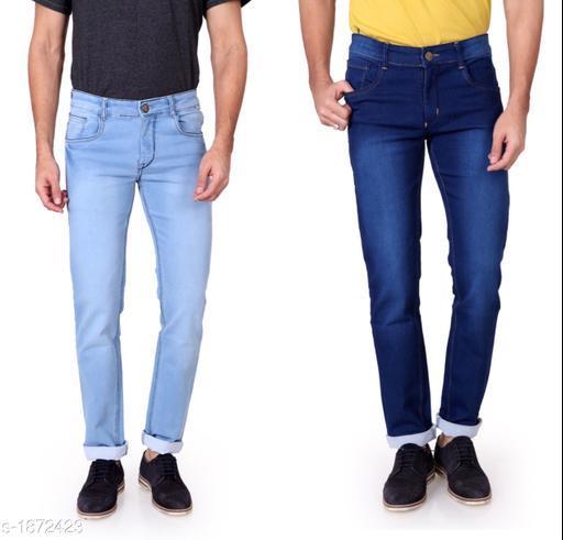 Stylish Denim Men's Jean (Pack Of 2)