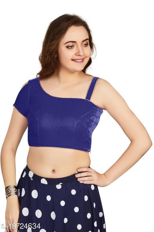 Aastha Fashion Designer Velvet Blouse