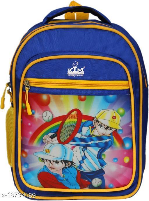 Kim Bag Blue Polyester Tensic boy Waterproof School Bag