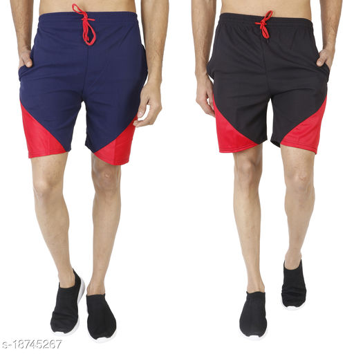 L S SPORTS SHORTS PACK OF 2
