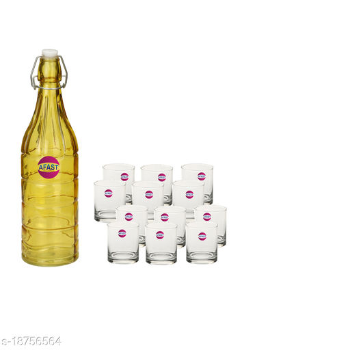 Trendy Bottle And Glass Set For Beverage GH3