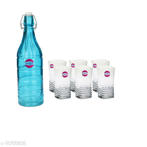 Trendy Bottle And Glass Set For Beverage BW7