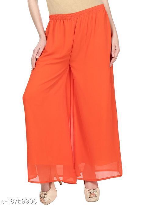 LA25's Women's Georgette Plazzo | premium Quality fabrics | plazzo for girls/ladies| Sizes(M-2XL)