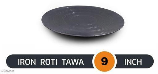 Original Premium Handmade Loha Iron Lokhand Roti / Chapati curved Desi Tawa ( Size - 9 Inches )