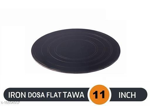 Original Premium Handmade Loha Iron Lokhand Flat Dosa Desi Tawa ( Size - 11 Inches )