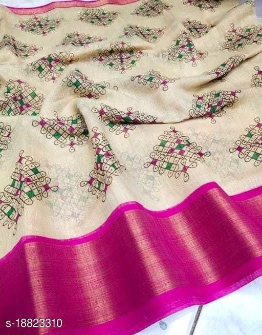 New Super Hit Sonakshi Linen Saree