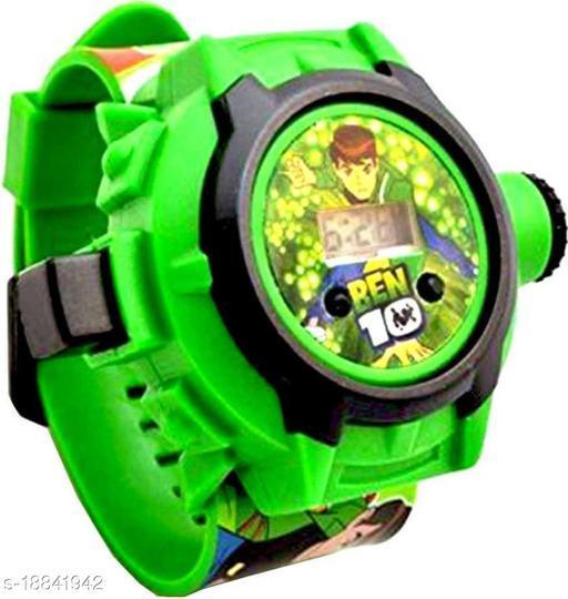 Ben 10 24 Images Digital Display Projector Cartoon Display Watch for Kids