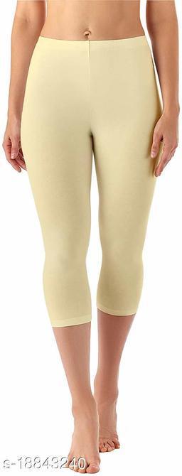 LA25's 3/4th Capri for Women | short leggings for women/girls | Soft Stretcheble fabric