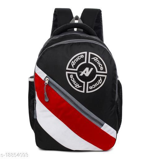Trendy Men's Multicolor Nylon Backpacks