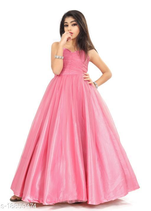 Trendy Net Ethnic Gowns