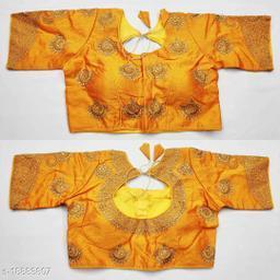 Designer Silk Readymade Blouse