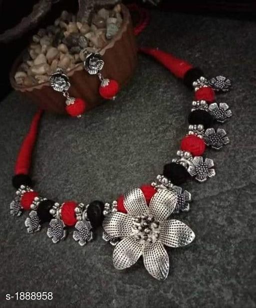Elegant Oxidized Jewellery Set